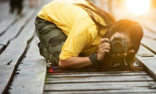 שני סיפורים על זווית צילום ומוסר השכל  אחד